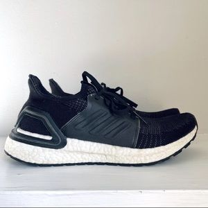 Adidas Big Kid UltraBOOST 19 Black / Cloud White